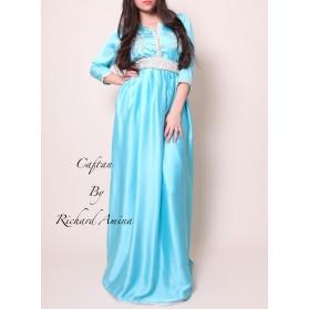 Caftan Badiha bleu 34/40