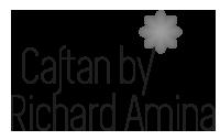 Caftan by richard amina logo noir et blanc