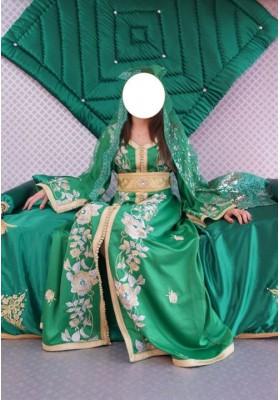 ensemble mariée vert n 1