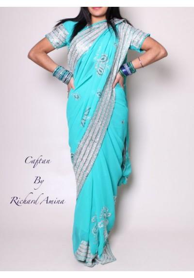 sari najou d'occasion 34 au 38